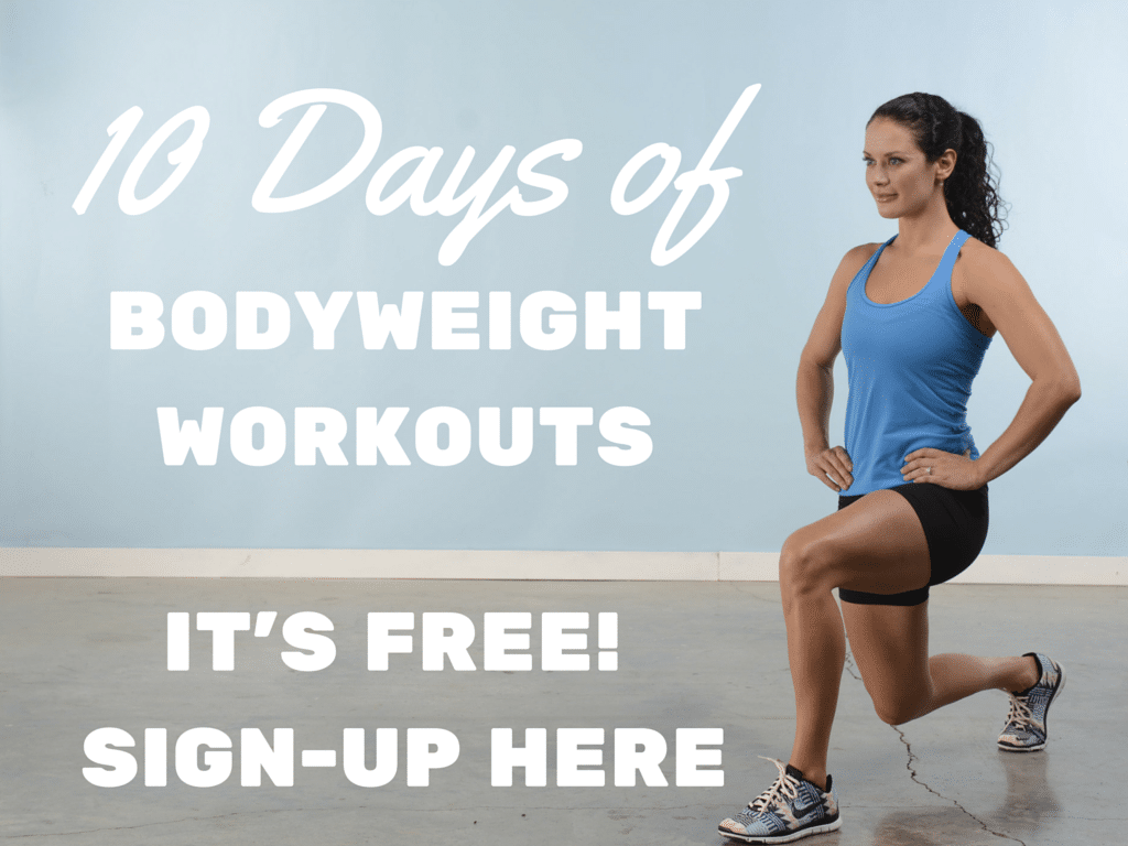 10 Days of Bodyweight Workouts