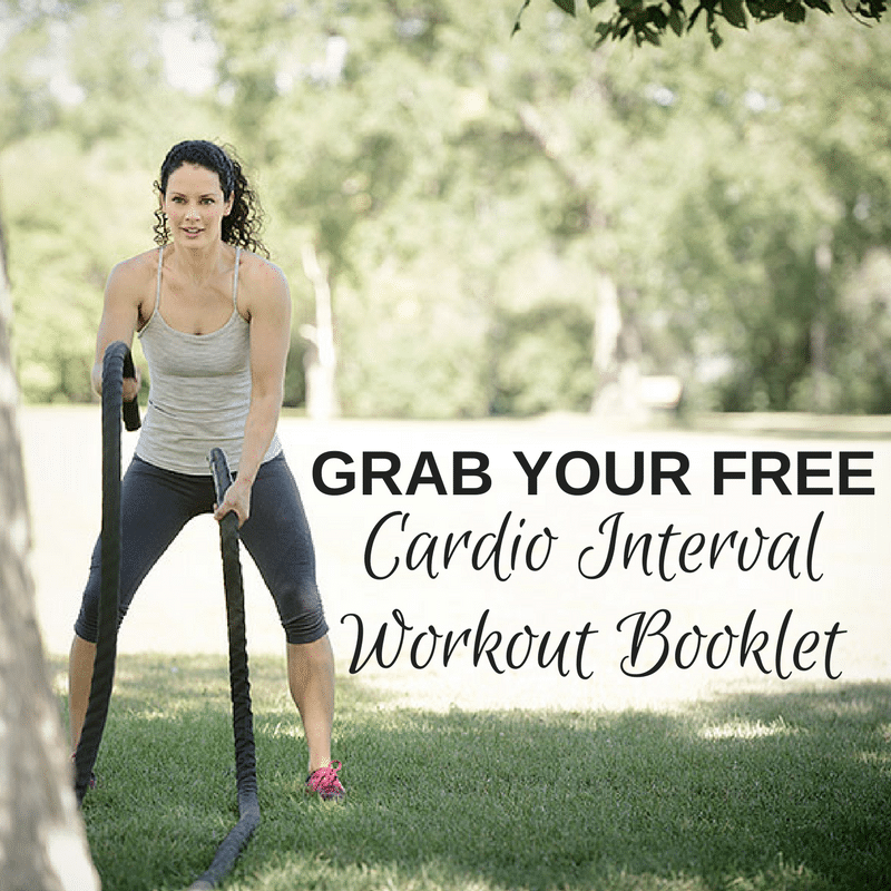 Download yourFREECardio Interval Workout Book